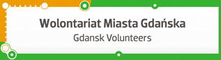 Logo Wolontariat Miasta Gdańska